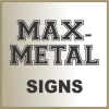 Click this Image to visit the ALUMINUM SIGNS category.