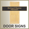 Click this Image to visit the DOOR SIGNS category.