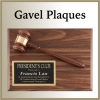 Click this Image to visit the Gavel Plaques category.