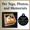 Click this Image to visit the Pet Tags, Photos, and Memorials category.