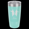 Teal Stainless Steel SHAG TUMBLER 20 oz Shag Tumblers
