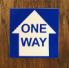 One Way Decals