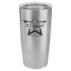 Polar Camel 20 oz. Tumbler - Stainless Steel Stainless Steel Drinkware