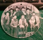 Laser Engraved Acrylic Photo Ornament $25 and under