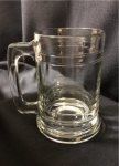 Glass Maitime Beer Mug 15oz. $25 and under