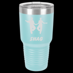 Light Blue Stainless Steel SHAG TUMBLER 30 oz Shag Tumblers