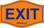 EXIT COMPLIANT SIGNS