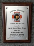 Cherry Finish Plaque - Full Color - #CEP991SS CORPORATE PLAQUES