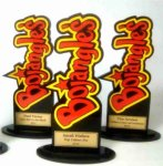 Custom Bojangles CUSTOM ACRYLIC AWARDS