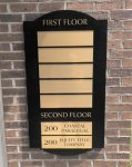Directory Refurbished Sign CUSTOM QUOTE SIGNS