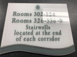 Indoor Acrylic Sign - Directional CUSTOM QUOTE SIGNS