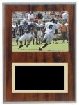 Cherry Finish Photo Frame Plaque Football Trophy Awards