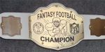 Championship Belt Football Trophy Awards