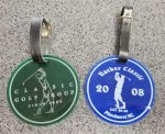 Acrylic Bag Tags Golf Gift Items