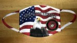 US Marine Corps - God Bless America Face Mask Military