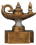 Resin Figure - Knowledge  Misc. Resin Trophy Awards