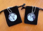 Laser Engraved Photo Necklace Personalized Gifts