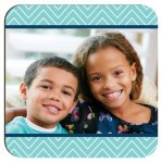 Gloss White Hardboard Square Coaster (4) Personalized Gifts