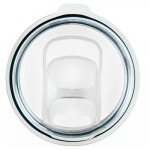 Clear Plastic Slider Lid for Double Wall Insulated Tumblers STAINLESS STEEL TUMBLERS