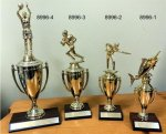Classic Cup on Base with Figure TROPHIES - TRADITIONAL
