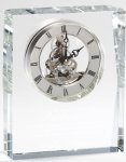 Corporate Crystal Clock Wedding Gifts